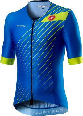 Castelli Free speed 2 race tri top blauw heren
