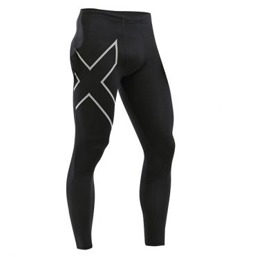 2XU Run Dash compressie tight zwart heren