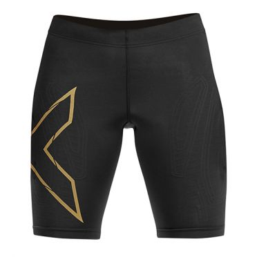 2XU MCS Run Compressie shorts zwart dames