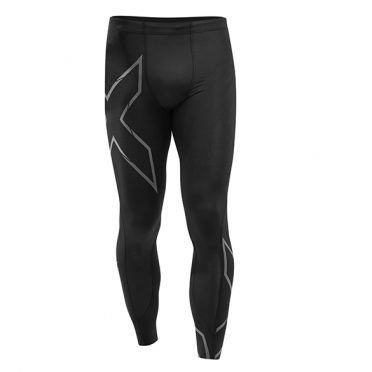2XU MCS Run Compressie tights zwart heren