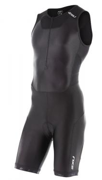 2XU Trisuit X-vent front zip zwart heren