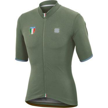 Sportful Italia CL jersey fietsshirt groen heren