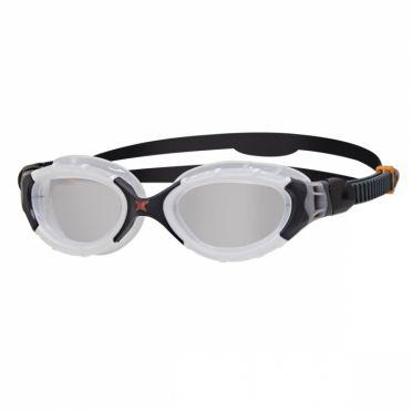 Zoggs Predator flex zwembril wit/zwart