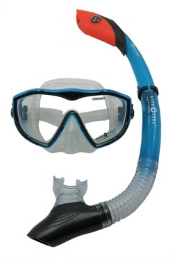Aqua Lung Sport Diva I LX + Island Dry Snorkelset dames aqua