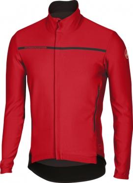 Castelli Perfetto lange mouw jacket rood heren 16507-023