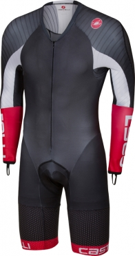 Castelli Body paint 3.3 speedsuit lange mouw zwart/wit heren