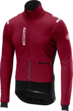 Castelli Alpha RoS jacket rood/paars heren