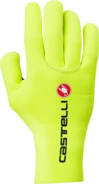 Castelli Diluvio c glove fietshandschoenen fluo geel heren
