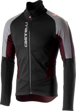 Castelli Mortirolo V reflex jacket zwart heren