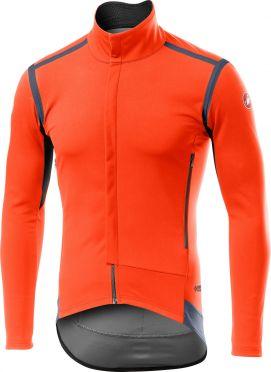 Castelli Perfetto RoS lange mouw jacket oranje heren