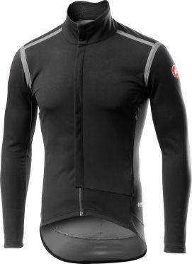 Castelli Perfetto RoS lange mouw jacket zwart/grijs heren
