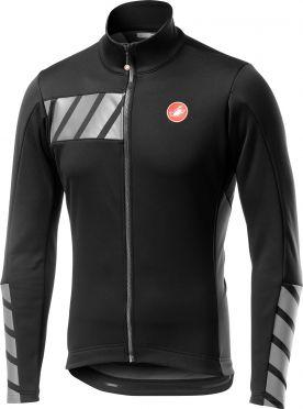 Castelli Raddoppia 2 jacket zwart/grijs heren