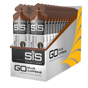 SIS GO Energy + caffeïne energiegel cola 30 stuks