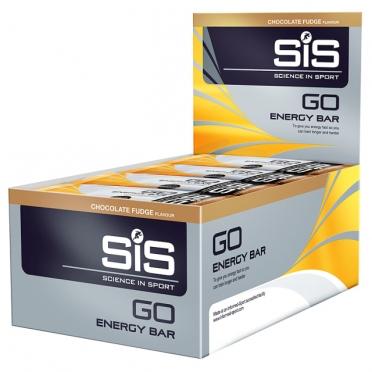 SiS GO Energy energiereep chocolade fudge 30 stuks