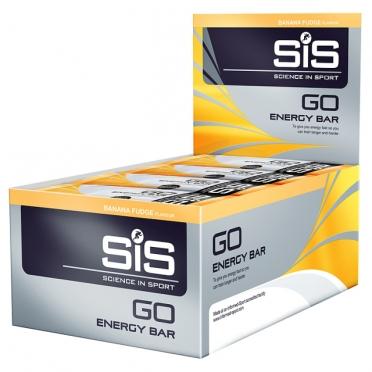 SiS GO Energy energiereep banaan fudge 30 stuks