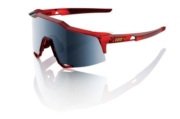 100% Speedcraft fietsbril cherry palace met mirror lens