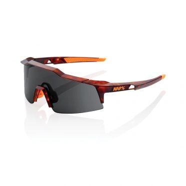 100% Speedcraft fietsbril havana met SL lens mat donker