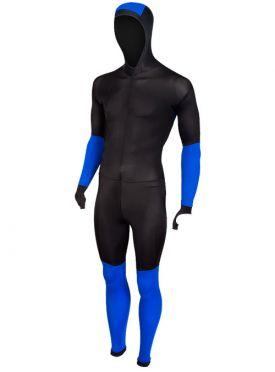 Craft Speed schaatspak CB zwart/blauw unisex