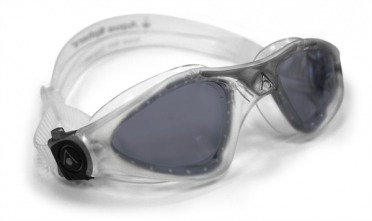 Aqua Sphere Kayenne Zwembril donkere lens zilver