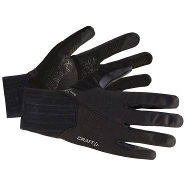 Craft All weather fietshandschoenen zwart
