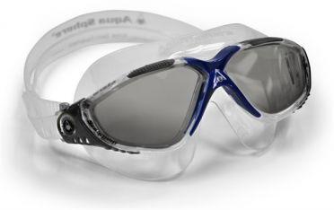 Aqua Sphere Vista donkere lens zwembril grijs