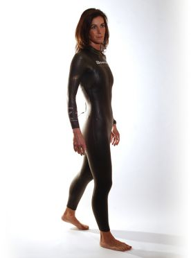 Aquaman Cell gold lange mouw wetsuit dames
