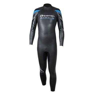 Aquaman Rafale lange mouw wetsuit zwart/blauw heren