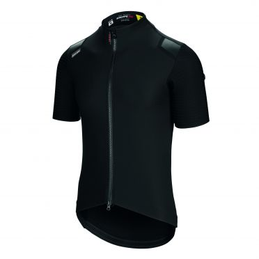 Assos Equipe RS lente herfst targa fietsshirt korte mouw zwart heren