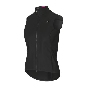 Assos Dyora RS spring fall Aero gilet zwart dames