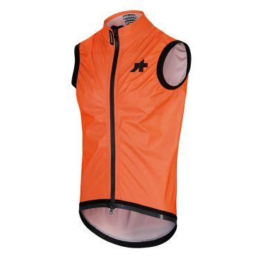 Assos Equipe RS regen vest oranje heren