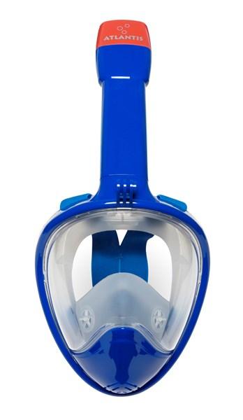 Atlantis 2.0 Full face snorkelmasker blauw