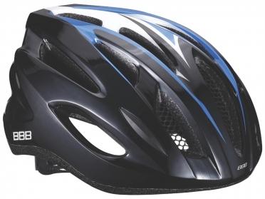 BBB Fietshelm Condor zwart/blauw