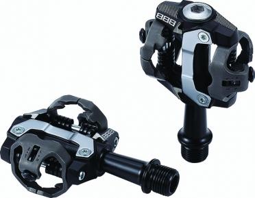 BBB Forcemount BPD-14 MTB pedalen zwart
