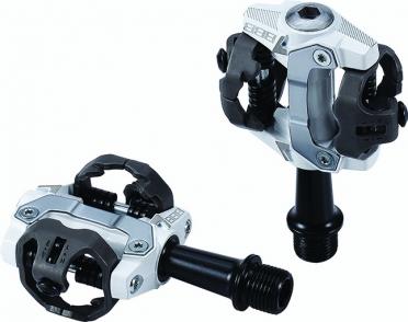 BBB Forcemount BPD-14 MTB pedalen wit
