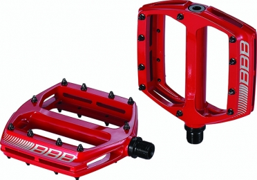 BBB Coolride BPD-16 MTB pedalen rood