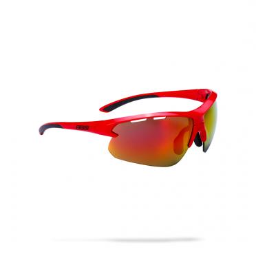 BBB Sportbril Impulse MLC glossy rood
