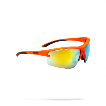 d4388d07635206 BBB Sportbril Impulse MLC mat oranje