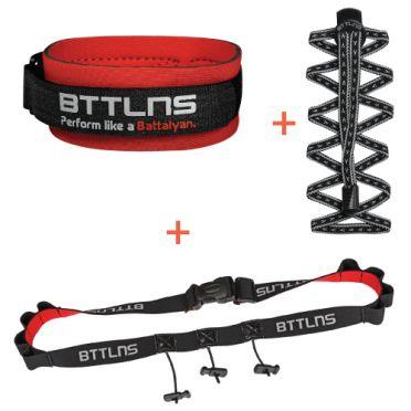 BTTLNS Triathlon accessoires voordeel pakket zwart