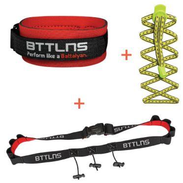 BTTLNS Triathlon accessoires voordeel pakket geel