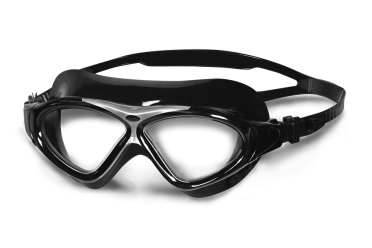 BTTLNS Essovius 1.0 transparante lens zwembril zwart/zilver