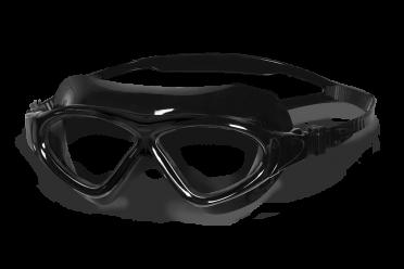BTTLNS Essovius 1.0 transparante lens zwembril zwart