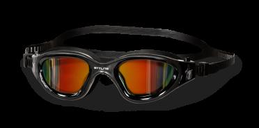 BTTLNS Valyron 1.0 spiegellens zwembril zwart/goud