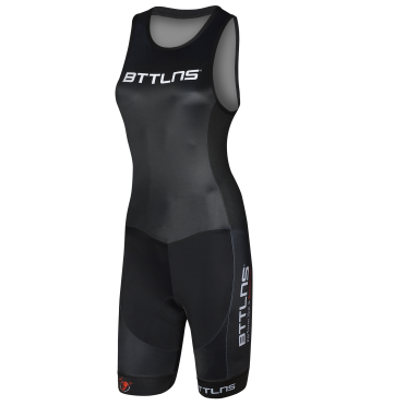 BTTLNS Goddess ITU trisuit mouwloos zwart Nemesis 1.0