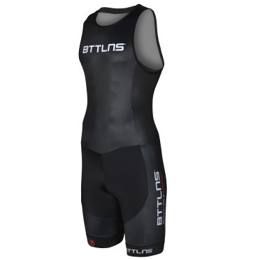BTTLNS Gods ITU trisuit mouwloos zwart Nemesis 1.0