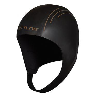 BTTLNS Neopreen Swim cap Khione 1.0 zwart/goud