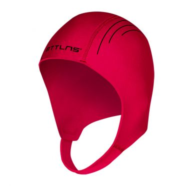 BTTLNS Neopreen Swim cap Khione 1.0 rood