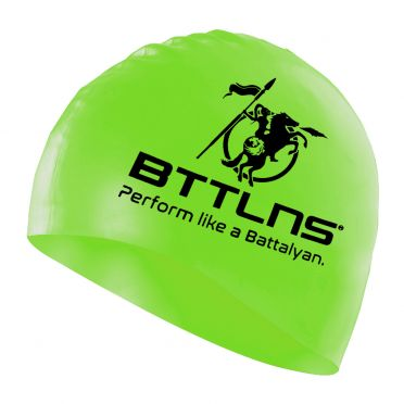 BTTLNS Siliconen badmuts neon-groen Absorber 2.0