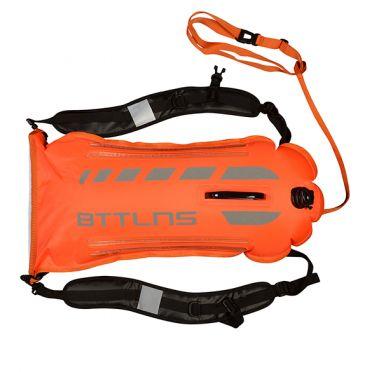 BTTLNS Saferswimmer veiligheid verlichte zwemboei Scamander 2.0 oranje