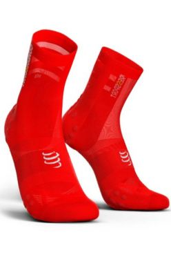 Compressport V3.0 ultralight fietssokken rood