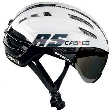 Casco SPEEDairo RS Fietshelm wit/zwart